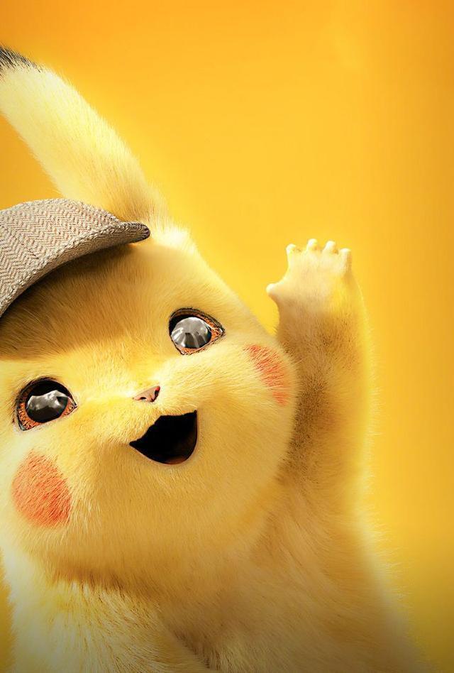 国内资讯_30张 Detective Pikachu 超萌超可爱手机壁纸!快下载进手机吧 ...