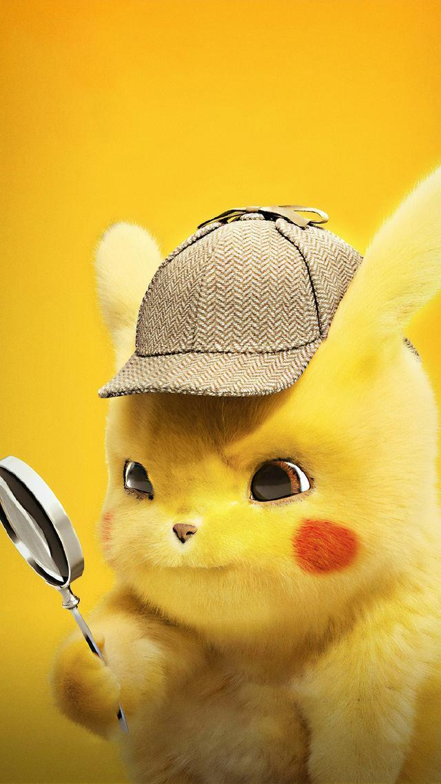 娱乐资讯_30张 Detective Pikachu 超萌超可爱手机壁纸!快下载进手机吧 ...
