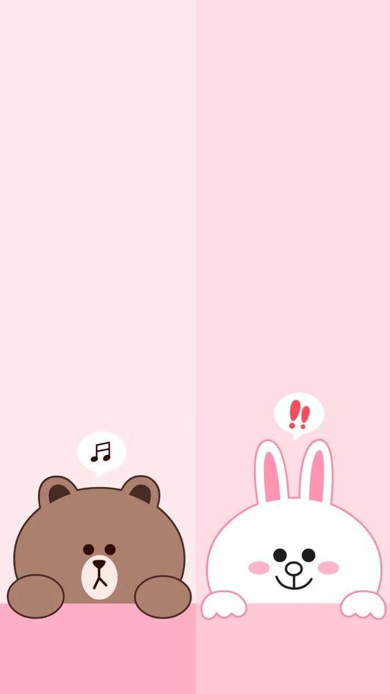 国内资讯_30张 Line Friends 布朗熊超可爱手机壁纸!让超治愈的可爱萌物陪你 ...