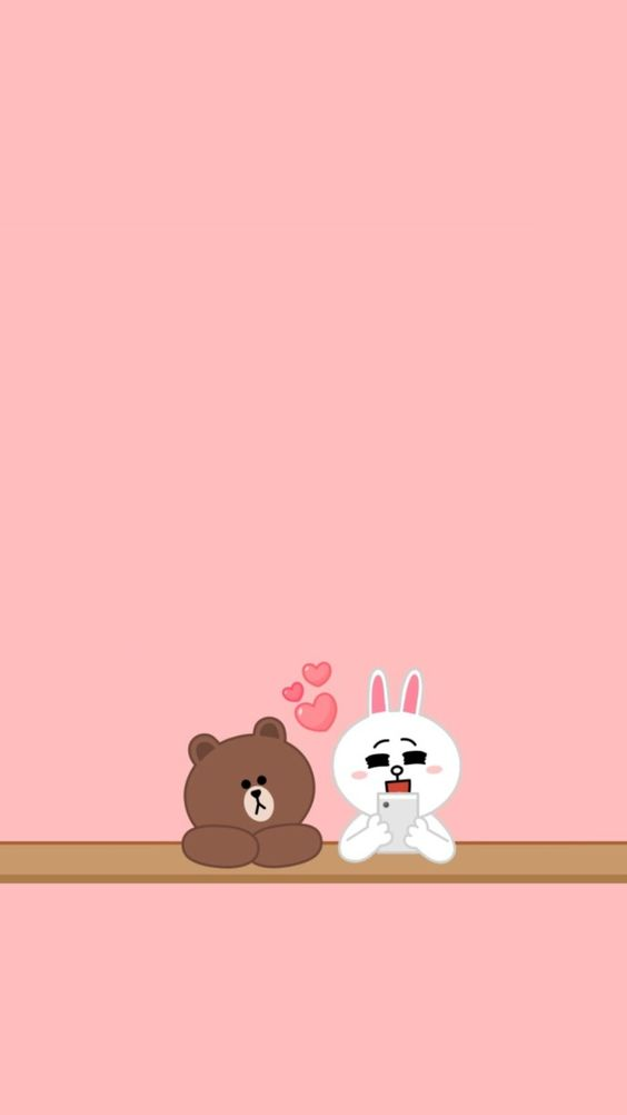 生活资讯_30张 Line Friends 布朗熊超可爱手机壁纸!让超治愈的可爱萌物陪你 ...
