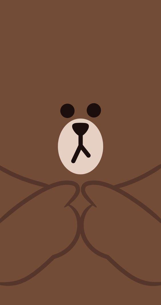 最新资讯_30张 Line Friends 布朗熊超可爱手机壁纸!让超治愈的可爱萌物陪你 ...