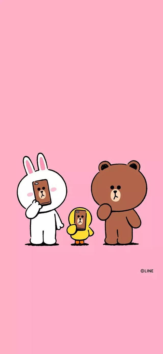 娱乐资讯_30张 Line Friends 布朗熊超可爱手机壁纸!让超治愈的可爱萌物陪你 ...